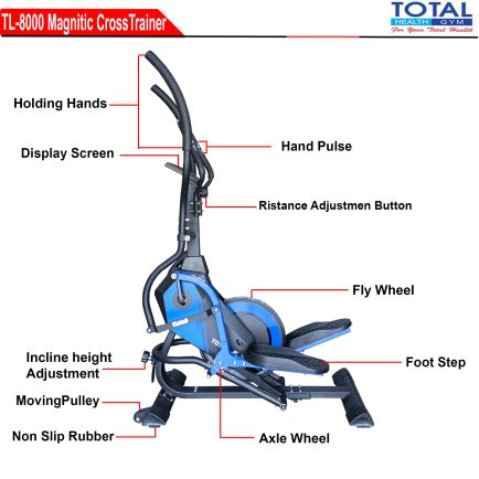 Cross Trainer TL 8000 STANDING ELEPTICAL 1 detail_tl_8000