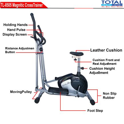 Cross Trainer TL 8505 ELEPTICAL MAGNETIC 1 detail_tl_8505